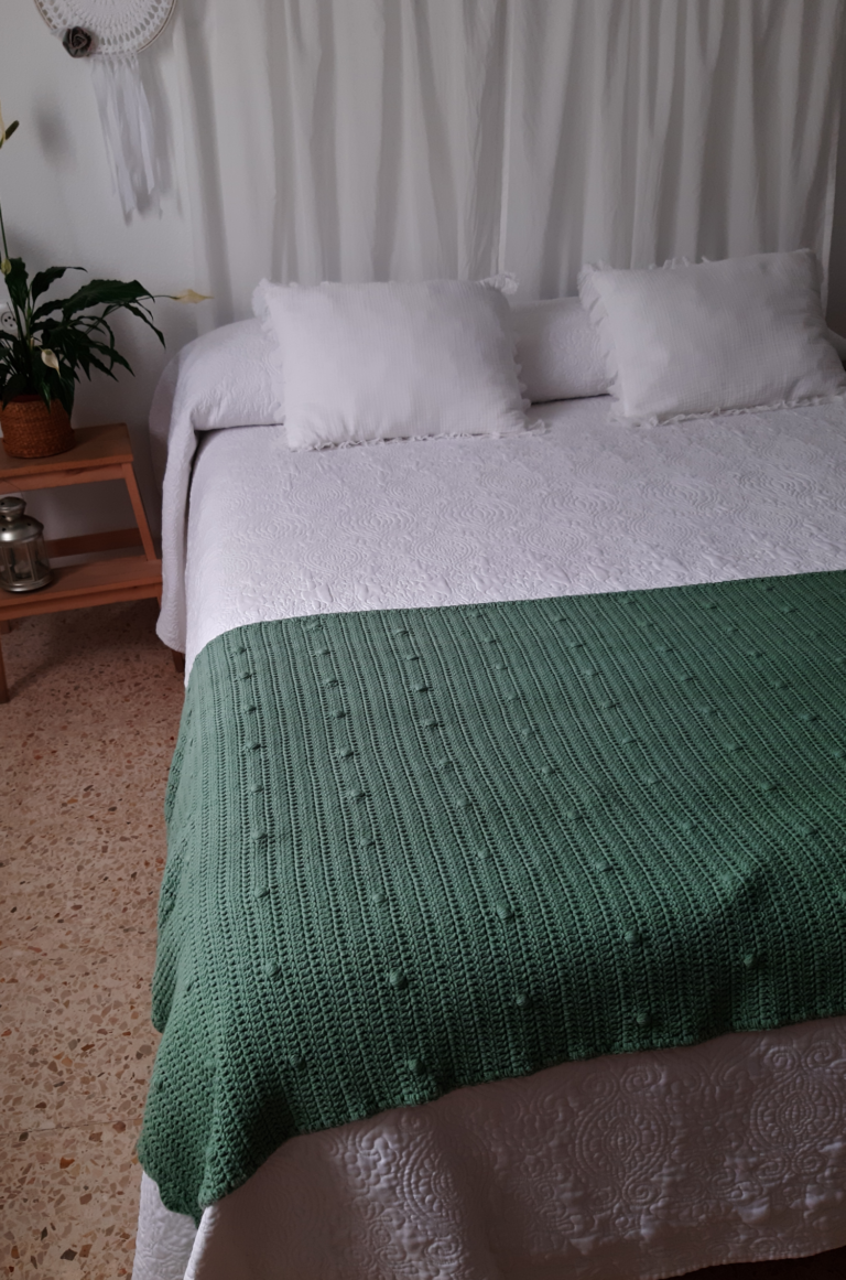 Pié de cama para primavera