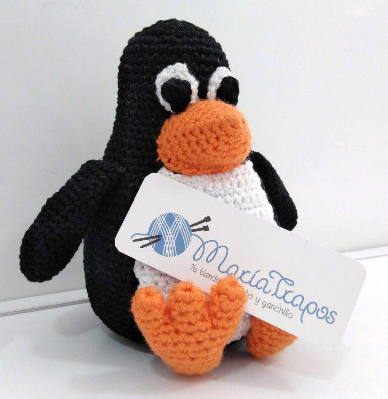Tux de ganchillo – Un guiño a Linux